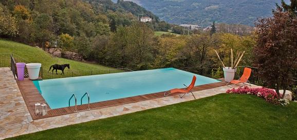 Galerie photos habillage bois azur cs diffusion le for Entretien piscine nice